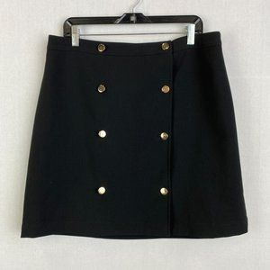 BANANA REPUBLIC A-line Button Skirt